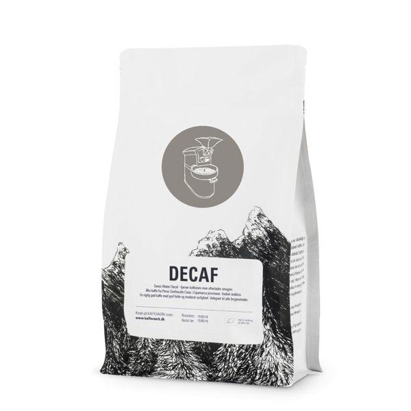 Decaf økologisk kaffe