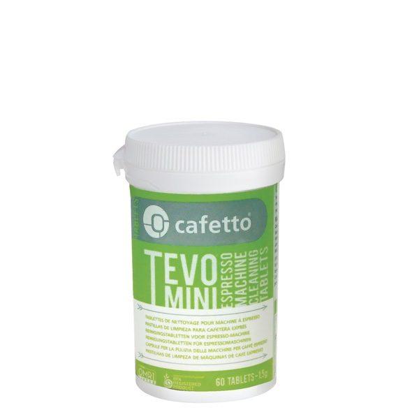 Cafetto Tevo Mini tabs espressomaskinerens tabletter