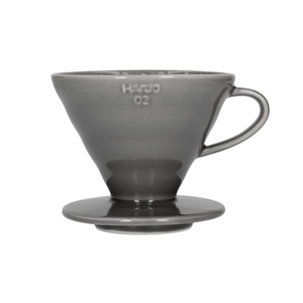 Hario V60 keramisk kaffebrygger Grå 02