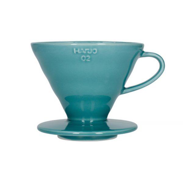 Hario V60 keramisk kaffebrygger Turkis 02