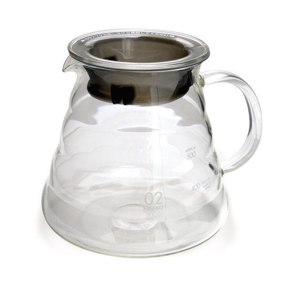 Hario V60 Kaffekande glas