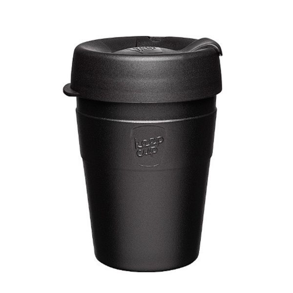 KeepCup Termokop stål 12oz Sort